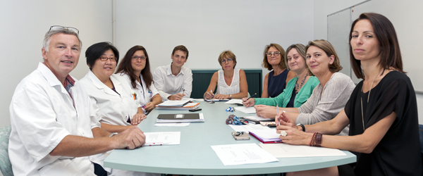 3 C Centre de coordination en cancérologie - réunion pluridisciplinaire