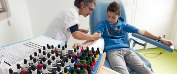 Département de Pneumologie - test allergologie