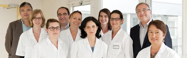 Centre Référence maladies neurogénétiques équipe