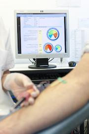 Fibrométrie par test sanguin spécialisé
