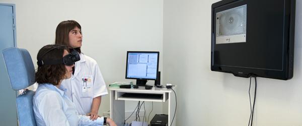 ORL Chirurgie maxillo-faciale, examen VNG