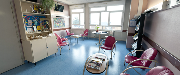 Psychiatrie adulte salle détente