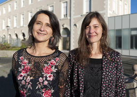 Pr. Clothilde Rougé-Maillart et Anne-Laurence Penchaud
