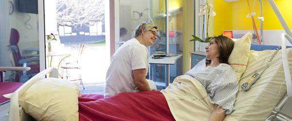 médecine interne soins palliatifs chambre